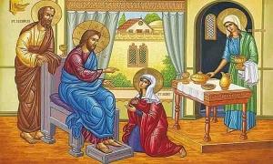 Η ευαγγελική περικοπή στις εορτές της Θεοτόκου