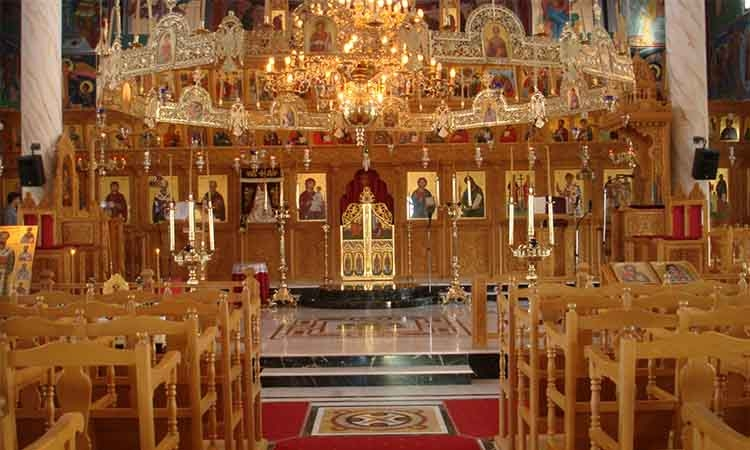 Τμήματα του ναού και η χρήση τους